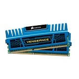 CORSAIR Memory PC 2x 2GB DDR3 PC-12800 [Vengeance CMZ4GX3M2A1600C9B] - Blue - Memory Desktop Ddr3